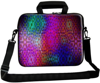 Theskinmantra 11 inch Laptop Messenger Bag Multicolor