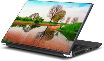 Artifa River in Green Nature Vinyl Laptop Decal 15.6