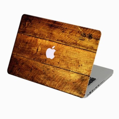 Theskinmantra Plank Macbook 3m Bubble Free Vinyl Laptop Decal 13.3