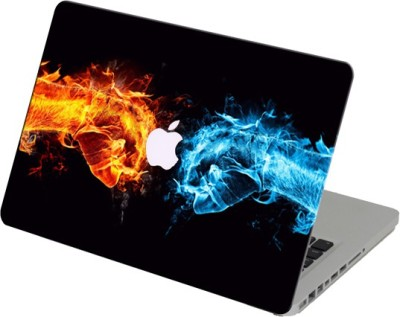 Theskinmantra Warrior Hands Laptop Skin For Apple Macbook Air 13 Inches Vinyl Laptop Decal 13