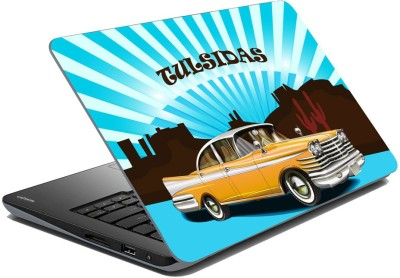 meSleep Vinatge Car for tulsidas Vinyl Laptop Decal 15.6  available at flipkart for Rs.249