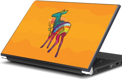 Artifa colorful deer Vinyl Laptop Decal 15.6 Artifa Computer Components