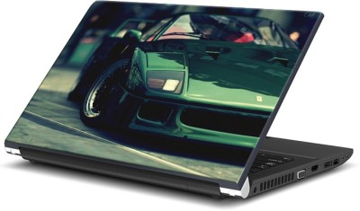Rangeele Inkers Stylish Fast Green Car Vinyl Laptop Decal 15.6  available at flipkart for Rs.119