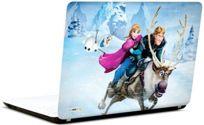 Pics And You Frozen Cartoon Themed 392 3M/Avery Vinyl Laptop Decal 15.6 Flipkart