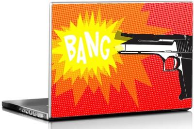 Seven Rays Gun Pop Art Vinyl Laptop Decal 15.6