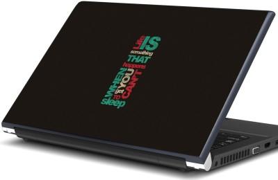 Artifa life quote Vinyl Laptop Decal 15.6