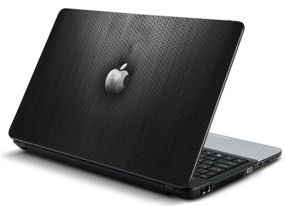 Geek carbon apple texture HQ Laminated Vinyl Laptop Decal 15.6