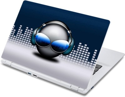 ezyPRNT Beautiful Musical Expressions Music Z  13 to 13.9 inch  Vinyl Laptop Decal 13