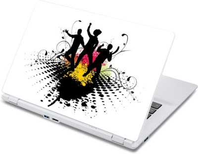 ezyPRNT Disco Dance and Music I  13 to 13.9 inch  Vinyl Laptop Decal 13