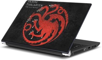 ezyPRNT Game Of Thrones House Targaryen (13 to 13.9 inch) Vinyl Laptop Decal 13
