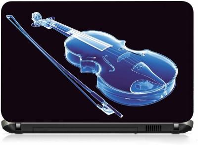 VI Collections NEON VIOLIN PVC  Polyvinyl Chloride  Laptop Decal 15.6
