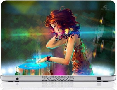 Finest Girl DJ Vinyl Laptop Decal 15.6 Finest Computer Peripherals