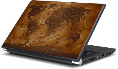 Artifa Ancient World Map Vinyl Laptop Decal 15.6