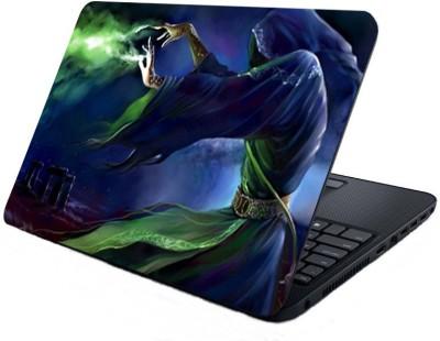 Shopmillions Scary Girl Vinyl Laptop Decal 15.6