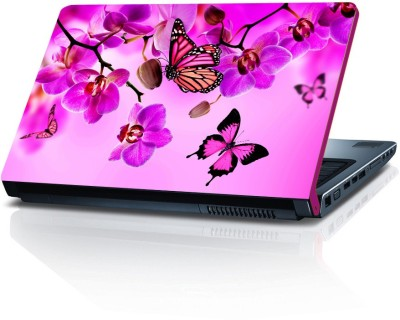 Shopmillions Spring Flowers Vinyl Laptop Decal 15.6