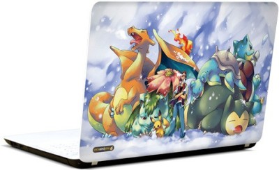 Pics and You Pokemon Cartoon Themed 154 3M/Avery Vinyl Laptop Decal 15.6 Flipkart