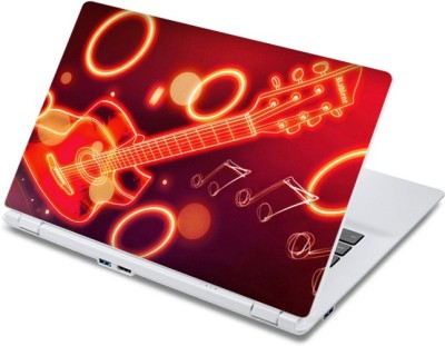 ezyPRNT Guitar Musical Instrument Music P  13 to 13.9 inch  Vinyl Laptop Decal 13