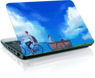 Shopmania Ride On bicycle Vinyl Laptop Decal 15.6  available at flipkart for Rs.219