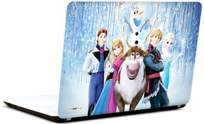 Pics And You Frozen Cartoon Themed 398 3M/Avery Vinyl Laptop Decal 15.6 Flipkart