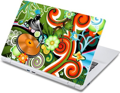 ezyPRNT Beautiful Musical Expressions Music J  13 to 13.9 inch  Vinyl Laptop Decal 13