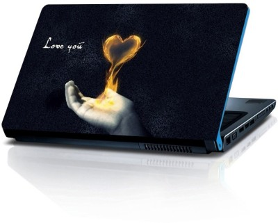 Shopmillions Love You Vinyl Laptop Decal 15.6