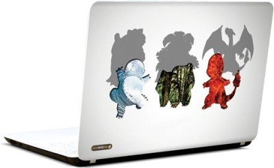 Pics And You Pokemon Cartoon Themed 106 3M/Avery Vinyl Laptop Decal 15.6 Flipkart