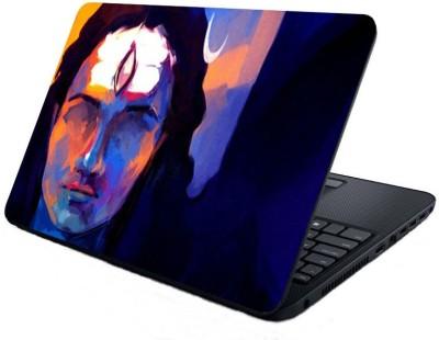 Shopmillions Lord Shiva painting Vinyl Laptop Decal 15.6