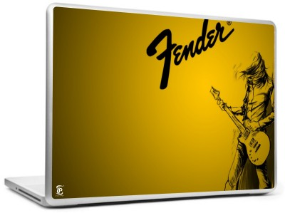 Print Shapes Fender Electric Guitar Vinyl Laptop Decal 15.6  available at flipkart for Rs.199