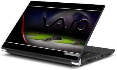 Geek sony vaio beach Laminated Vinyl Laptop Decal 15.6