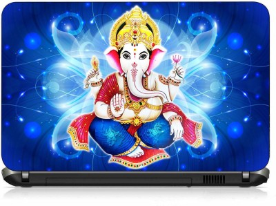 VI Collections LORD GANESHA PVC  Polyvinyl Chloride  Laptop Decal 15.6