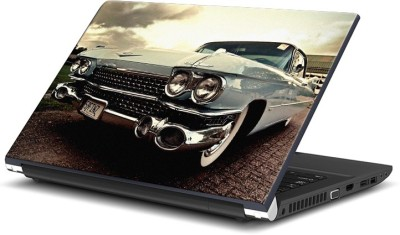 Rangeele Inkers Blue Vintage Car Vinyl Laptop Decal 15.6  available at flipkart for Rs.119
