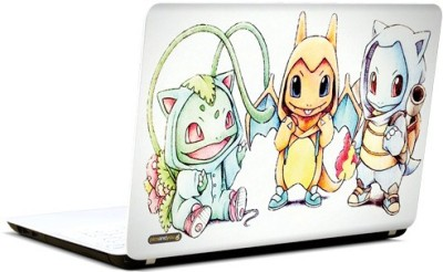 Pics and You Pokemon Cartoon Themed 109 3M/Avery Vinyl Laptop Decal 15.6 Flipkart