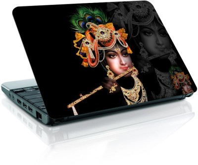 Shopmania Shri krishna Vinyl Laptop Decal 15.6