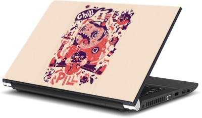 ezyPRNT Crazy Monkey Chill Pill (15 inch) Vinyl Laptop Decal 15  available at flipkart for Rs.270