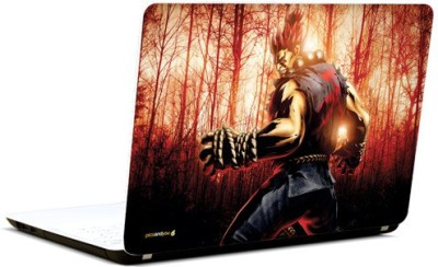 Pics And You Tekken Cartoon Themed 329 3M/Avery Vinyl Laptop Decal 15.6