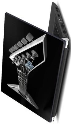 Psycho Art Electric Guitar Black Bg Vinyl Laptop Decal 15.6  available at flipkart for Rs.198