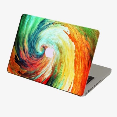 Theskinmantra Colour Flood Skin Macbook 3m Bubble Free Vinyl Laptop Decal 13.3