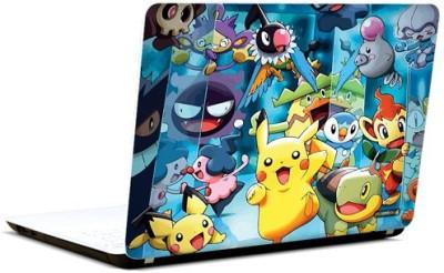Pics And You Pokemon Cartoon Themed 128 3M/Avery Vinyl Laptop Decal 15.6 Flipkart