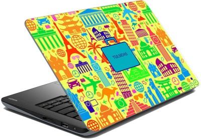 meSleep Abstract Travel - tulsidas Vinyl Laptop Decal 15.6  available at flipkart for Rs.249