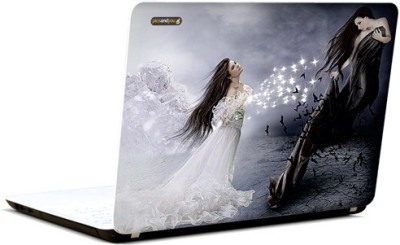 Pics And You Angel Or Demon 3M/Avery Vinyl Laptop Decal 15.6