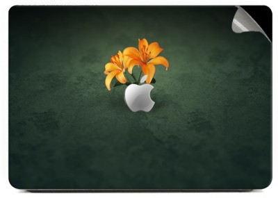 Swagsutra Two Flowers Vinyl Laptop Decal 15