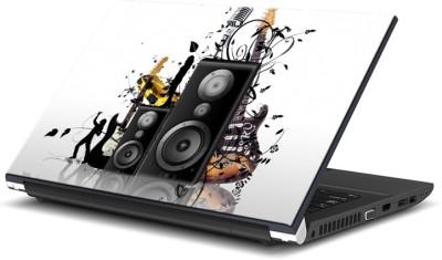 ezyPRNT Loud Speakers Music L  15 to 15.6 inch  Vinyl Laptop Decal 15