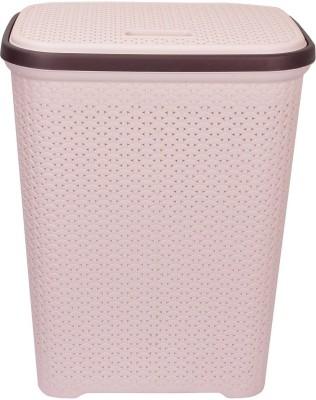 Polyset 20 L Beige Laundry Basket(PLASTIC) at flipkart