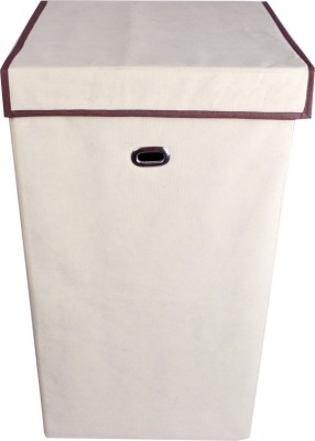 JMD 15 L Beige Laundry Basket(Fabric) at flipkart