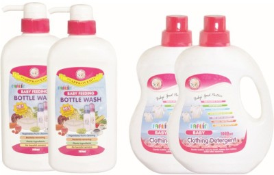 Farlin Anti Bacterial Baby Detergent com Bottle Wash(4)
