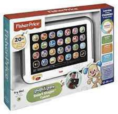 Fisher-Price Laugh&Learn Smart Stages Tablet Grey(Multicolor)  available at flipkart for Rs.1059