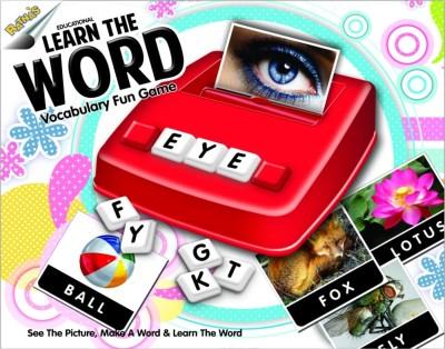 Ratnas Learn The Word(Multicolor)