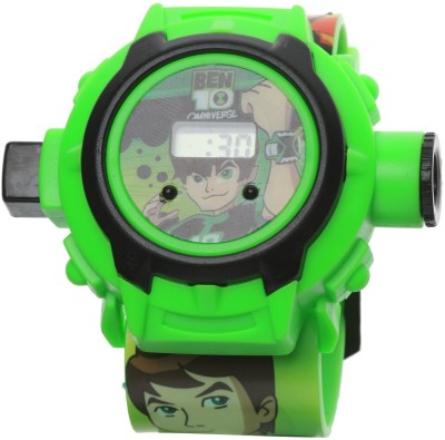 Vente Ben 10 Projector Digital Watch With 24 Images for Kids Multicolor Vente Educational Toys