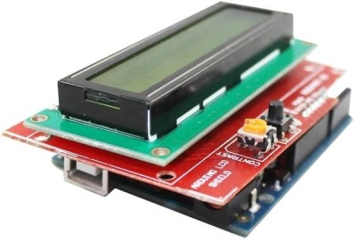 Robomart Arduino LCD Shield with Arduino UNO(Red)  available at flipkart for Rs.950