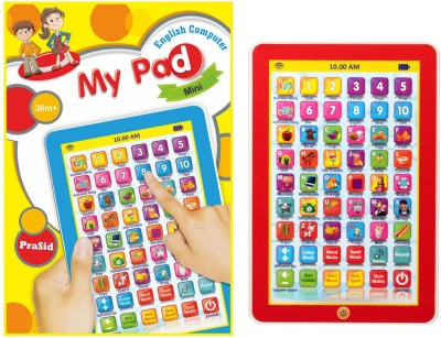 Prasid Mini My Pad English(Multicolor)  available at flipkart for Rs.289